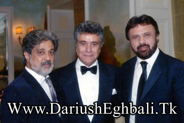 Daryoosh eghbali and behrooz vosooghi ang bijan mortazavi